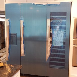 3 column Thermador Refrigerator