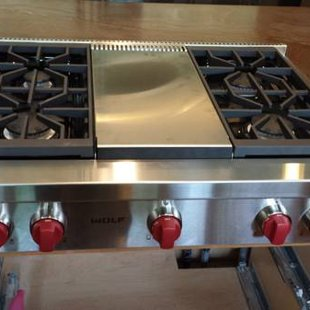 Wolf Cooktop
